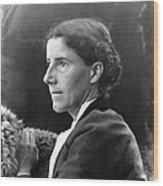 Charlotte Perkins Gilman Wood Print