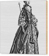 Charlotte Sophia (1744-1818) Wood Print by Granger