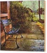 Charming Milton Morning Wood Print