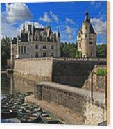 Chateau Chenonceau Loire Valley Wood Print