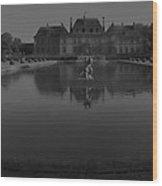 Chateau De Breteuil Dh 1 Wood Print