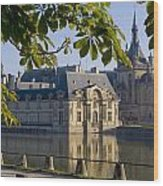 Chateau De Chantilly Wood Print