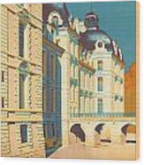Chateau De Cheverny Wood Print