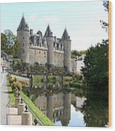 Chateau De Josselin Wood Print