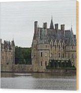 Chateau De La Bretesche Wood Print