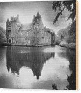 Chateau De Trecesson Wood Print