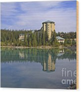 Chateau Lake Louise Wood Print