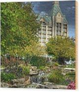 Chateau On The Lake Wood Print