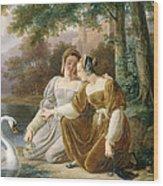 Chatelaines Wood Print