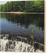 Chatfield Hollow Pond Wood Print