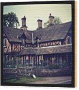 Chatsworth Estate Wood Print by Chris Jones