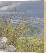 Chattanooga Wood Print