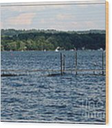 Chautauqua Lake  Wood Print