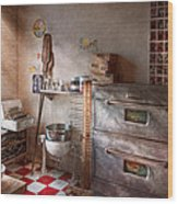 Chef - Baker - The Bread Oven Wood Print