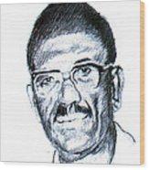 Cheikh Anta Diop Wood Print