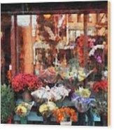 Chelsea Flower Shop Wood Print