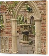 Chelsea Stone Archway Wood Print