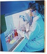 Chemist Wood Print