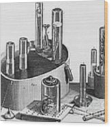 Chemistry Of Gases Wood Print
