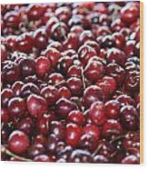 Cherry Wood Print by Francois Cartier