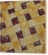 Cherry Pie 3782 Wood Print