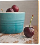 Cherry Wood Print