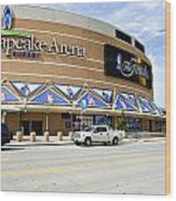 Chesapeake Arena Wood Print by Malania Hammer