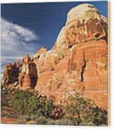 Chesler Park At Canyonlands National Park Wood Print
