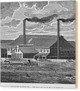 Chester Rolling Mill Wood Print