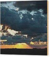 Chestnut Ridge Sunset 2642 Wood Print