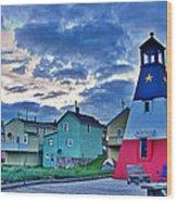 Cheticamp In Cape Breton Nova Scotia Wood Print