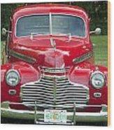 Chevrolet 1941 Wood Print
