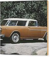 Chevrolet, 1957 Wood Print