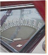 Chevrolet 3100 Truck Speedometer Wood Print