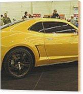 Chevrolet Camaro Bumblebee Wood Print