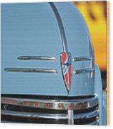 Chevrolet Hood Emblem 2 Wood Print