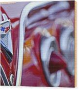 Chevrolet Impala Emblem Wood Print