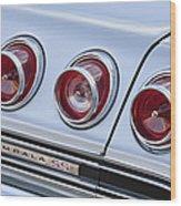 Chevrolet Impala Ss Taillight Wood Print