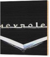 Chevrolet Logo Wood Print