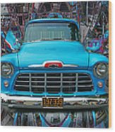 Chevrolet Pick Up Abstract Wood Print