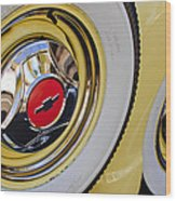 Chevrolet Tires Wood Print