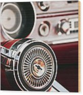 Chevy 327 Malibu Ss Wood Print