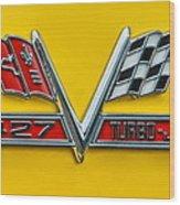 Chevy 427 Turbo-jet Wood Print