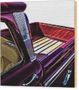 Chevy Custom Truckbed Wood Print