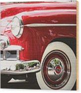 Chevy De Luxe Wood Print