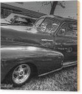 Chevy Fleetline Wood Print