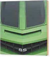 Chevy Ss Emblem Wood Print