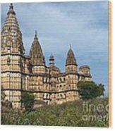 Chhatris Orchha India Wood Print