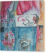 Chic Street Consignments Wood Print