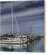 Chicago Harbor Wood Print